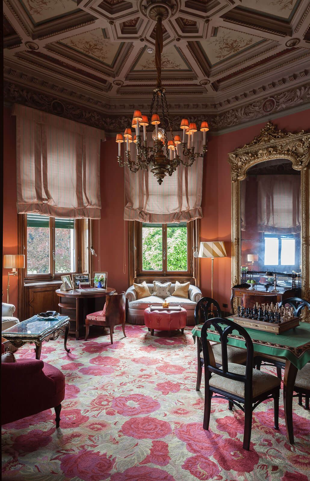 Grand Hotel a Villa Feltrinelli - homely welcoming atmosphere