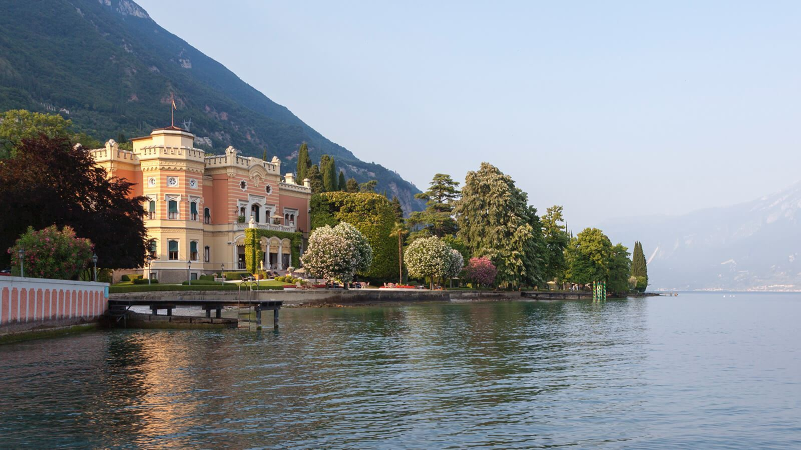 Grand Hotel a Villa Feltrinelli - The stillness of the lake of Garda